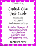 Context Clues Task Cards - STAAR Test Prep/Review