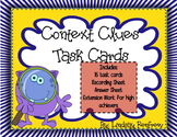 Context Clues Task Cards **Extension option available**