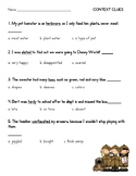 Context Clues Test/ Quiz/ Assessment