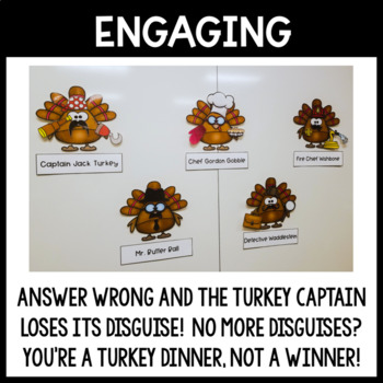 Context Clues Thanksgiving Review: Turkey Trot Escape