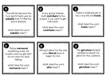 Context Clues - The Unfair Game
