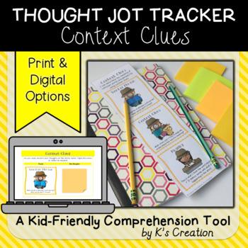 Context Clues Thought Jot Tracker