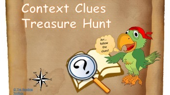 Context Clues Treasure Hunt