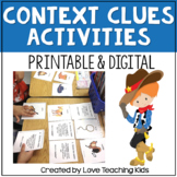 Context Clues Activities: Includes Task Cards and a Passage