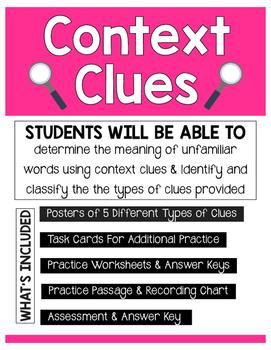Context Clues Unit
