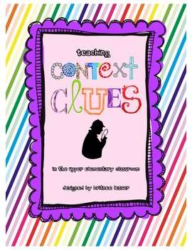 Context Clues Unit for Upper Elementary