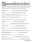 Context Clues (Using Nouns, Verbs & Adjectives)