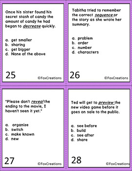 Context Clues ~ Vocabulary Acquisition and Use