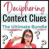 Context Clues Vocabulary Bundle- SAT + Close Reading Practice for ELA