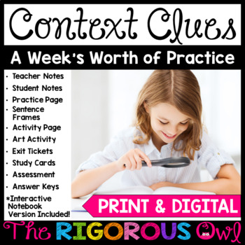Context Clues: A Week's Worth of Practice