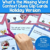BEST SELLING FORMAT  Context Clues- Winter Holiday Edition