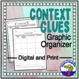 Context Clues Graphic Organizer Chart w/ Easel Activity