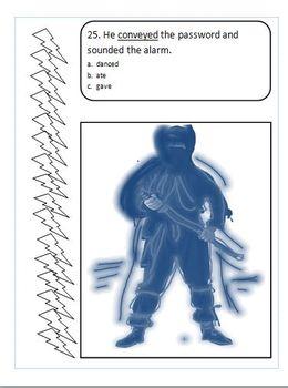 "Context Clues Worksheet Booklet ""Ninja Nick"""