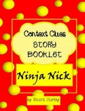 "Context Clues Worksheet Booklet ""Ninja Nick"""