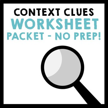 Context Clues Practice Worksheets