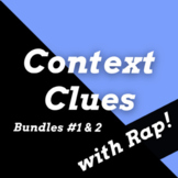 Context Clues Passages and Activities Using History Rap Songs, Double Bundle