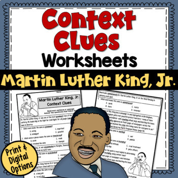 Drawing Conclusions Worksheet 3rd Grade Word Context Clues Worksheets Martin Luther King Jr Test Prep By  Romeo And Juliet Worksheets with Cause And Effect Worksheets For Middle School Excel Context Clues Worksheets Martin Luther King Jr Test Prep Africa Map Worksheets Excel