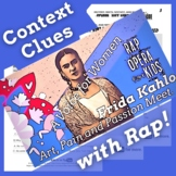 Context Clues Nonfiction Passage and Questions Using Frida