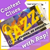 Context Clues Nonfiction Passage with Questions Using Jazz Music History Song