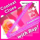 The History of Valentine's Day Reading Passage with Contex