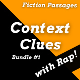 Context Clues Worksheets and Passages Using Fiction Texts