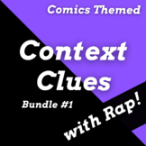 Context Clues Worksheets with Superhero Reading Passages U