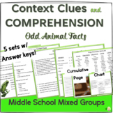 Context Clues and Comprehension for Middle School Mixed Groups