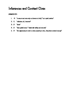 Theme Worksheets For 5th Grade Word Context Clues And Inferences Worksheet By Kim Barker  Tpt 3 Dimensional Figures Worksheets Word with Simple Analogies Worksheet Word Context Clues And Inferences Worksheet Cognates In Spanish Worksheet Excel