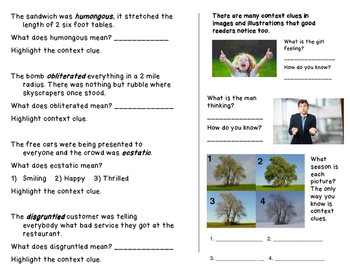 Context Clues and Inferences