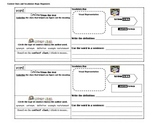 Context Clues and Vocabulary Maps Organizers