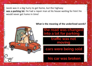 Context Clues and Word Meaning Digital Boom Cards