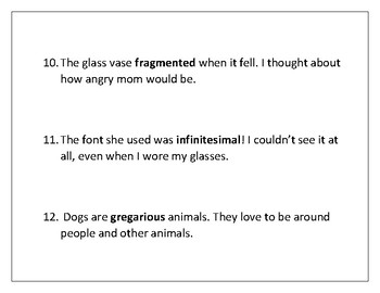 Context Clues for Fourth Grade