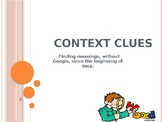 Context Clues for Middle and High School