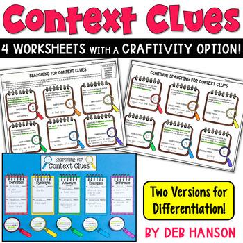 Context Clues Craftivity