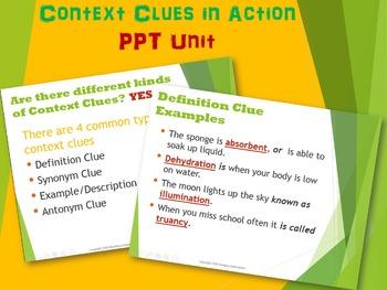 Context Clues in Action POWER BUNDLE