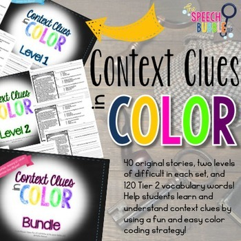 Context Clues in COLOR: Bundle