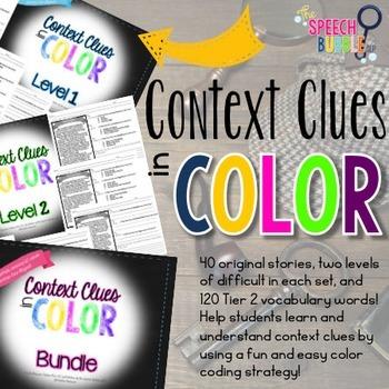 Context Clues in Color Bundle