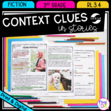 Context Clues in Fiction Stories - 3rd Grade RL.3.4 - Prin