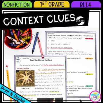 Context Clues in Nonfiction Text- RI.1.4