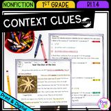 Context Clues in Nonfiction Text - 1st Grade RI.1.4 - Prin