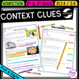 Context Clues Nonfiction - 2nd RI.2.4 & 3rd RI.3.4 - Print & Digital RI2.4 RI3.4