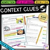 Context Clues Nonfiction - 2nd RI.2.4 & 3rd RI.3.4 - Print