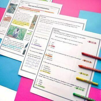 Context Clues in Nonfiction 4th Grade RI.4.4 & 5th Grade RI.5.4