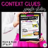 Context Clues in Nonfiction - Google Slides Distance Learn