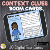 Context Clues (inferences)-Boom Task Cards-Distance Learning