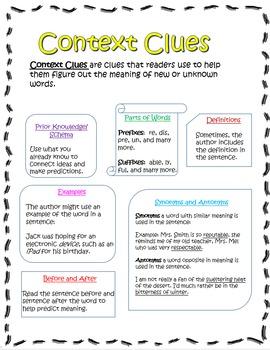 Context Vocabulary!