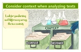 Context in Analyzing Texts Poster