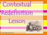 Contextual Redefinition: Using Context Clues