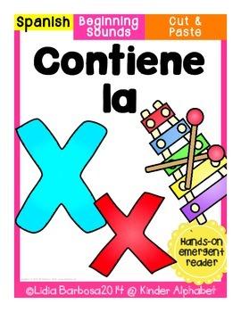 Contiene la x {Cut & Paste Emergent Reader}