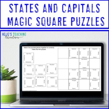 States and Capitals Center Game   States and Capitals Test & Review
